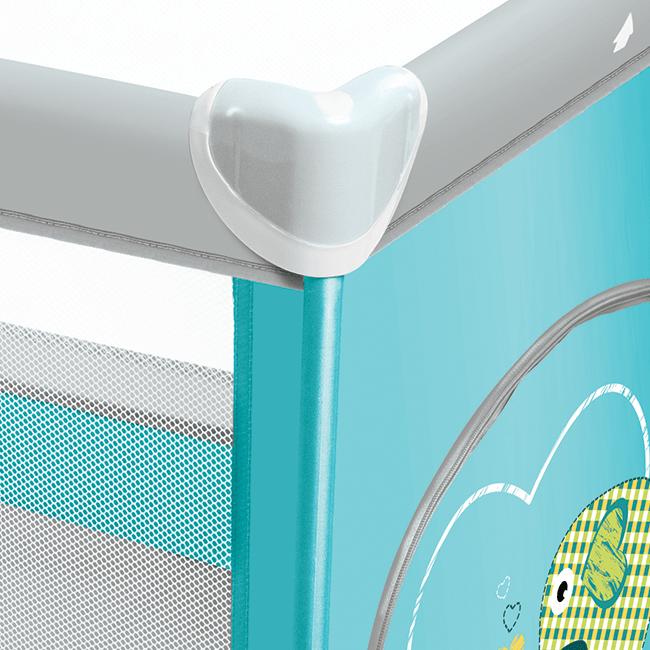 Кровать-манеж Baby Design Simple 2