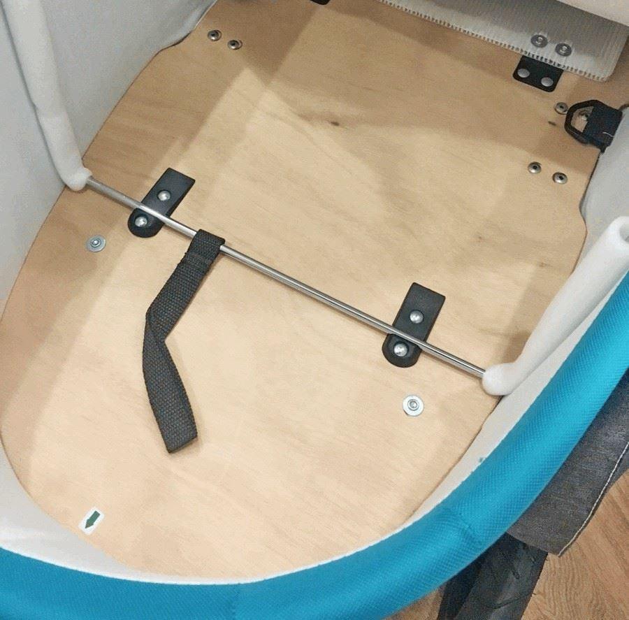 Baby Design Husky new деревянное дно в люльке