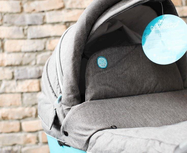 Baby Design Husky new -высокий бортик от ветра