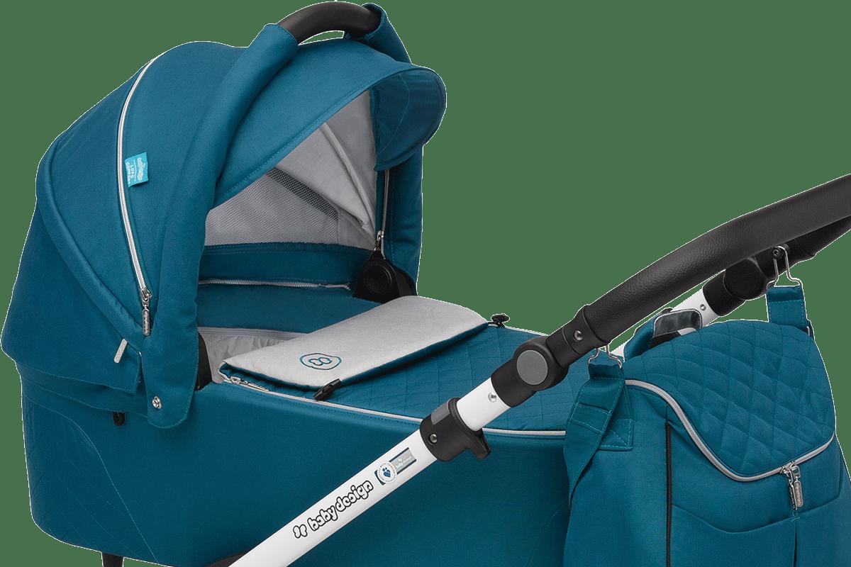 Baby Design Lupo Comfort - просторная вентилируемая люлька