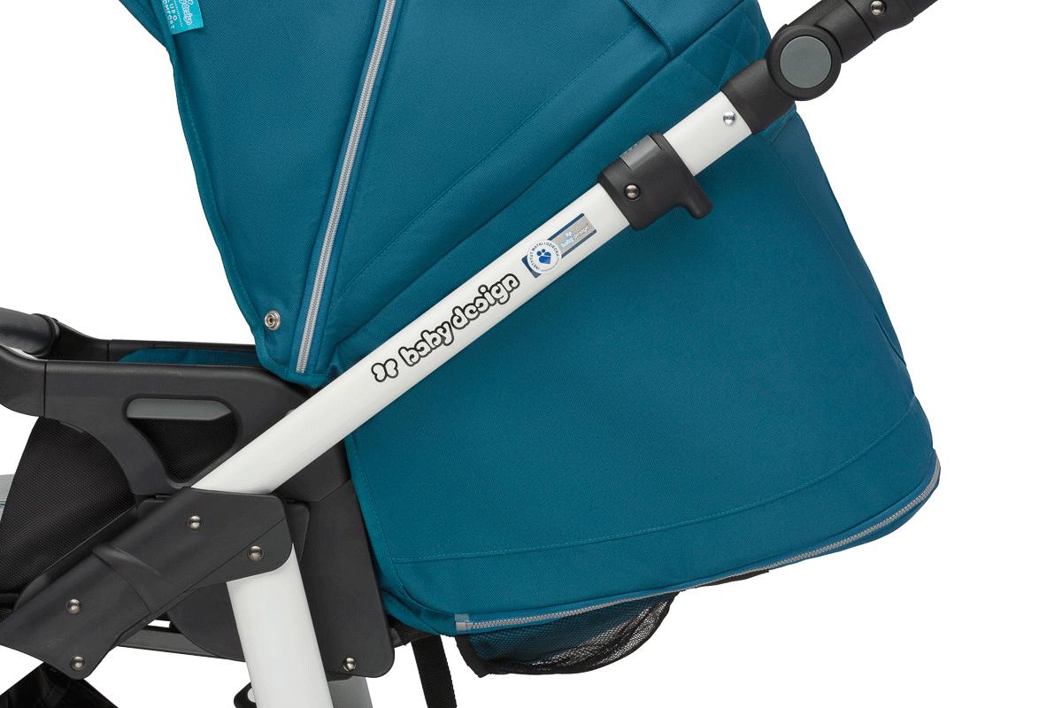 Baby Design Lupo Comfort - прогулочный блок, положение лежа