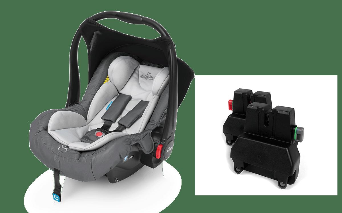 Baby Design Leo с адаптерами
