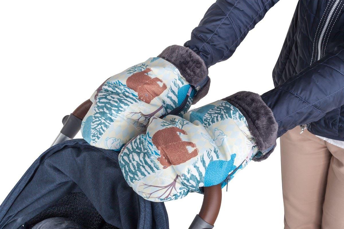 Высокие и очень теплые рукавицы Mammie