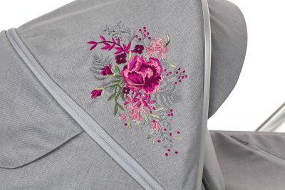 Baby Design Bueno 107 gray peony