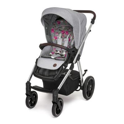 Прогулочный блок Baby Design Bueno 107 gray peony