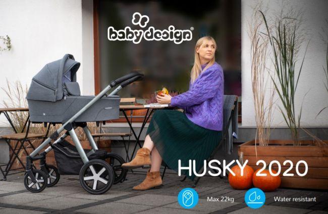 Baby Design Husky 2020 новая коллекция